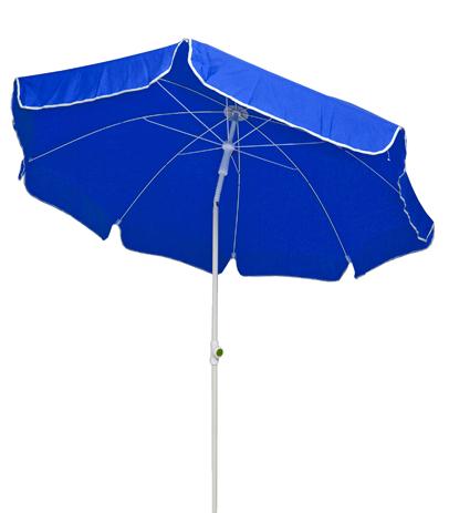 Velco Ομπρέλα Παραλίας 2m, Χρώμα Μπλε (371-4636) khpos outdoor camping epoxiaka camping ompreles ualasshs
