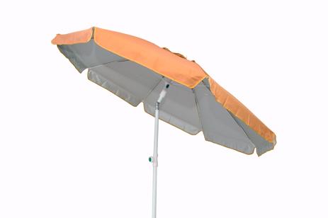 Velco Ομπρέλα Παραλίας 2m, Χρώμα Πορτοκαλί (371-7002) khpos outdoor camping epoxiaka camping ompreles ualasshs