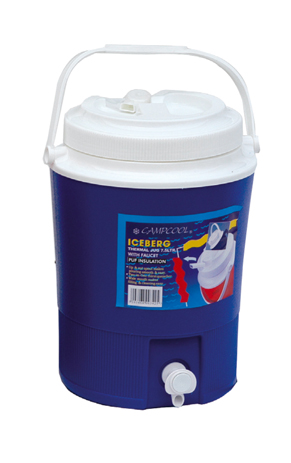 Campcool Θερμός Πολυουρεθάνης 7,5lt με Βρυσακι Σε Καπάκι & Βαση (21-03425) khpos outdoor camping epoxiaka camping uermos