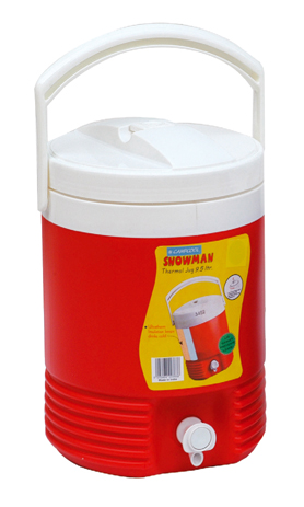 Campcool Θερμός Πολυουρεθάνης 9,5lt με Βρυσακι Σε Καπάκι & Βαση (21-03838) khpos outdoor camping epoxiaka camping uermos
