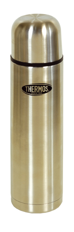 Thermos Ανοξείδωτο Θερμός Everyday 1lt με Διπλό Βρυσακι (213-9120) khpos outdoor camping epoxiaka camping uermos