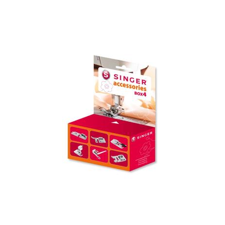 Κουτί Προαιρετικών Ποδιών Singer Accessories Box 4 hlektrikes syskeyes texnologia oikiakes syskeyes raptomhxanes