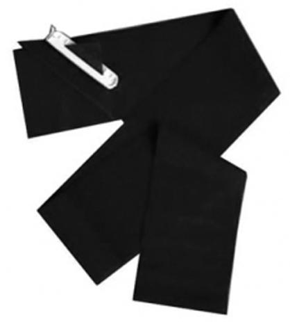 Λάστιχο Γυμναστικής BC Body-Band 2.00m x 10cm+Clip Μαύρο Πολύ Σκληρό