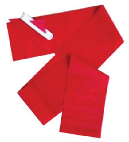 Λάστιχο Γυμναστικής BC Body-Band 2.40m x 15cm Κόκκινο Μαλακό