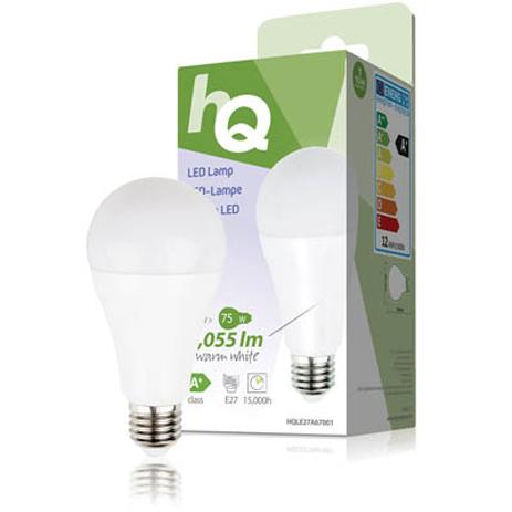 Λαμπτήρας LED HQ HQL E27 A67001 , 12W hlektrikes syskeyes texnologia hlektrologikos ejoplismos lampthres led