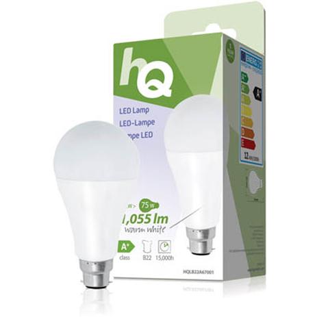 Λαμπτήρας LED HQ HQL B22 A67001 , 12W hlektrikes syskeyes texnologia hlektrologikos ejoplismos lampthres led
