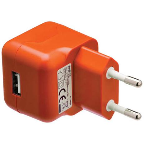 Universal Φορτιστής USB 2100mA Valueline VLMP 11955O , Πορτοκαλί ergaleia kataskeyes hlektrologikos ejoplismos trofodotika
