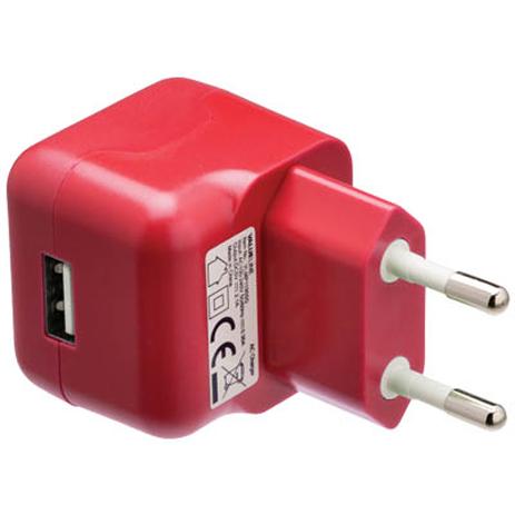 Universal Φορτιστής USB 2100mA Valueline VLMP 11955R , Κόκκινος ergaleia kataskeyes hlektrologikos ejoplismos trofodotika