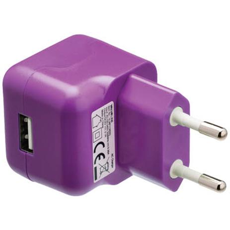 Universal Φορτιστής USB 2100mA Valueline VLMP 11955U , Μωβ ergaleia kataskeyes hlektrologikos ejoplismos trofodotika