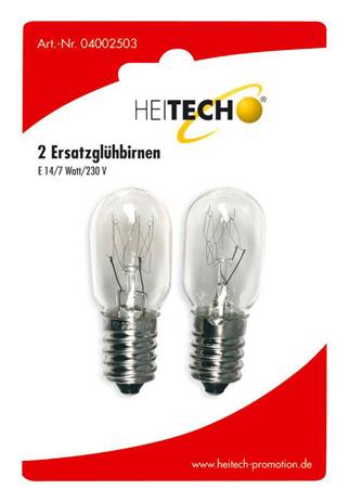 Λαμπτηρες Ε14 7W Heitech 04002503 , 2τμχ