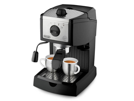 Delonghi Μηχανή Espresso Cappuccino EC156.B