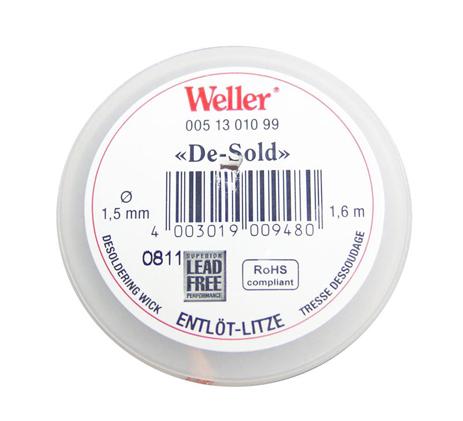 Weller, Σύρμα Αποκόλλησης Wick EL1 1.5mm, 9748 ergaleia kataskeyes hlektrologikos ejoplismos kollhthria