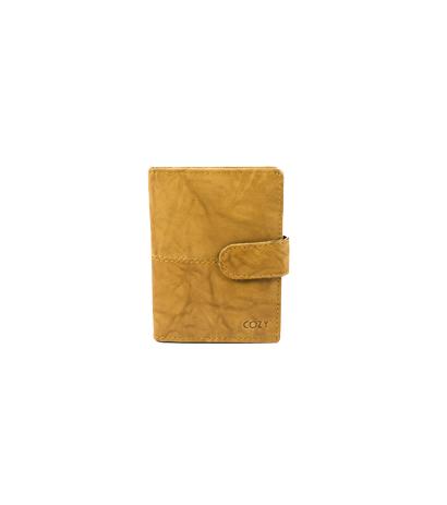 Cozy Καρτοθήκη Μονόχρωμη 1090A, Camel paixnidia hobby eidh tajidioy portofolia