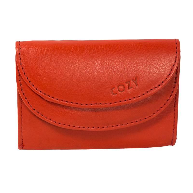 Cozy Γυναικείο Πορτοφόλι Μονόχρωμο 1121, Κόκκινο paixnidia hobby eidh tajidioy portofolia