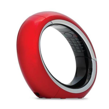 Ασύρματο Τηλέφωνο με Caller ID AEG EclipseE 10 Κόκκινο hlektrikes syskeyes texnologia stauerh thlefonia thlefona