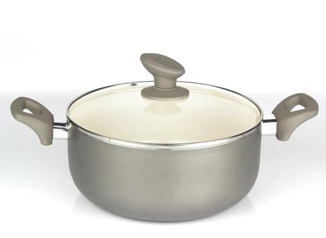 Κατσαρόλα με Γυάλινο Καπάκι Ø26 Sapir Z-1318-I26C