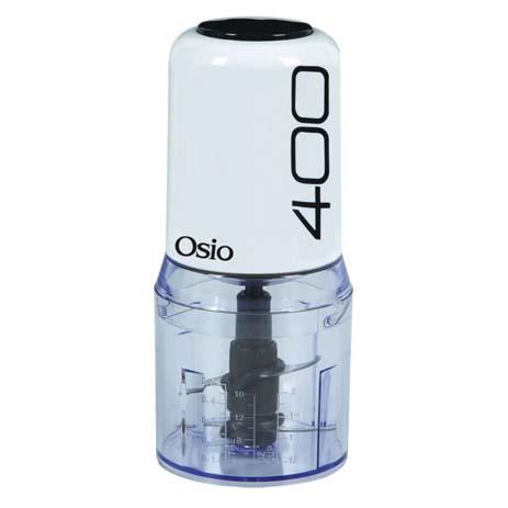 Πολυκόπτης με 2 Λεπιδες Osio OMC-2312W , Λευκό (400w)