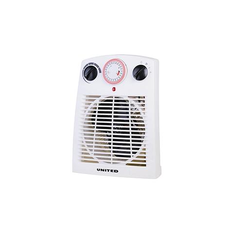 Fan Heater με Χρονοδιακόπτη United UHF-828 (2000w) hlektrikes syskeyes texnologia klimatismos uermansh aerouerma
