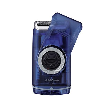 Braun, Ξυριστική Μηχανή Μπαταρίας MobileShave Pocket M60 Μπλε