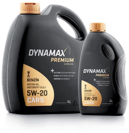 Λάδι Κινητήρα Dynamax Premium Ultra FEB 5W20 1lt
