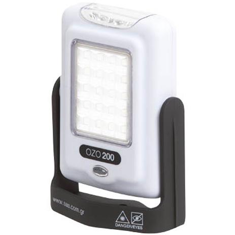 Φακός LED με Περιστρεφόμενη Βάση SAS 100-85-007 hlektrikes syskeyes texnologia oikiakes syskeyes ajesoyar