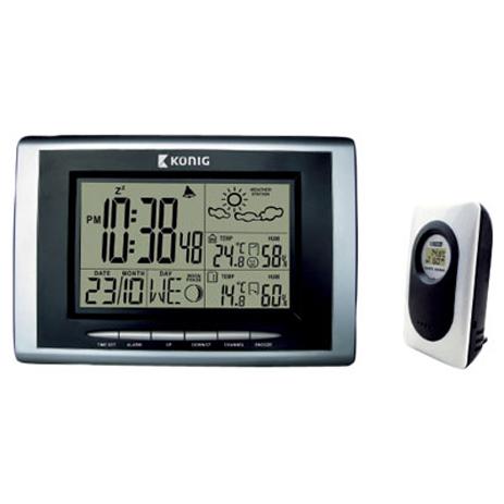 Ασύρματος Μετεωρολογικός Σταθμός Konig KN-WS 400N paixnidia hobby gadgets meteorologikoi staumoi