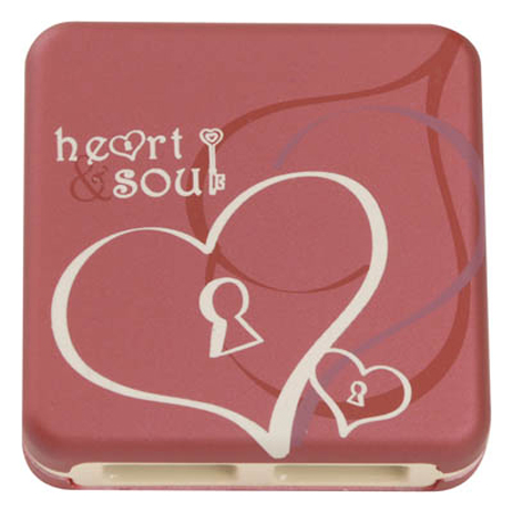 USB Hub 2.0 G-Cube Enchanted Heart & Soul GUE-55S , 4 Θύρες hlektrikes syskeyes texnologia perifereiaka ypologiston ajesoyar
