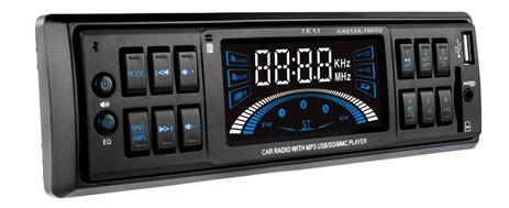 Ράδιο Αυτοκινήτου με υποδοχή USB & SD Κάρτα Akai CA012A-1605U hlektrikes syskeyes texnologia eikona hxos hxosysthmata aytokinhtoy