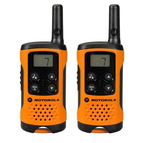 Walkie Talkie Motorola TLKR T41, Πορτοκαλι (14587-0042) paixnidia hobby gadgets diafora