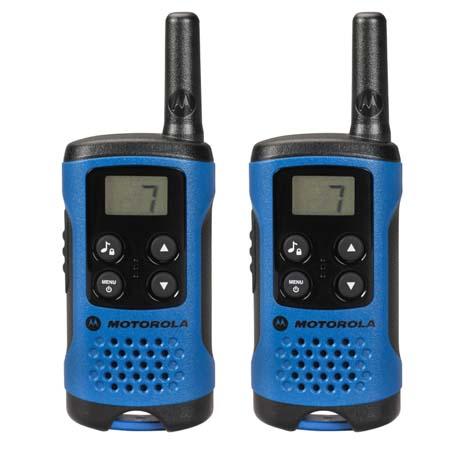 Walkie Talkie Motorola TLKR T41, Μπλε (14587-0041) paixnidia hobby gadgets diafora