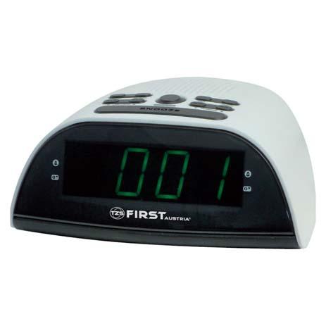 Ράδιο-Ρολόι AM/FM First FA-2406-4 hlektrikes syskeyes texnologia eikona hxos radiocdhi fi