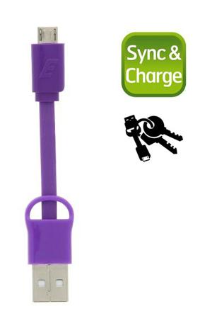 Καλώδιο Micro-USB Energizer POCKETMCPU2, Μωβ hlektrikes syskeyes texnologia perifereiaka ypologiston ajesoyar