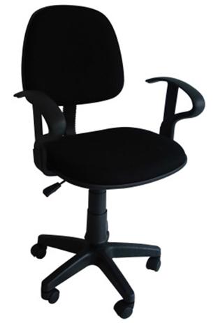 Πολυθρόνα Γραφείου 728152 Μαύρη