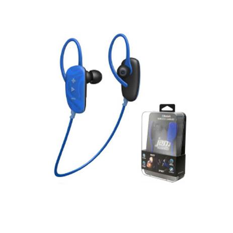 Ακουστικά Ψείρες Jam Bluetooth Fusion, Χρώμα Μπλε hlektrikes syskeyes texnologia perifereiaka ypologiston akoystika