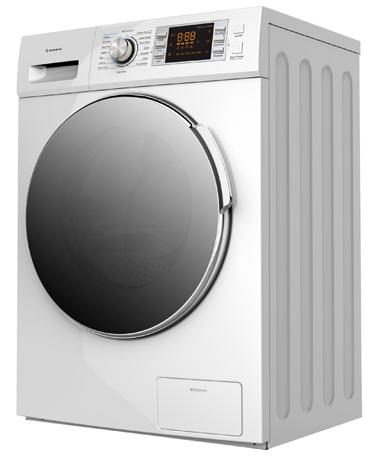 Πλυντήριο Ρούχων 9Kg Morris WBW-91413, Λευκό hlektrikes syskeyes texnologia oikiakes syskeyes plynthria stegnothria royxon