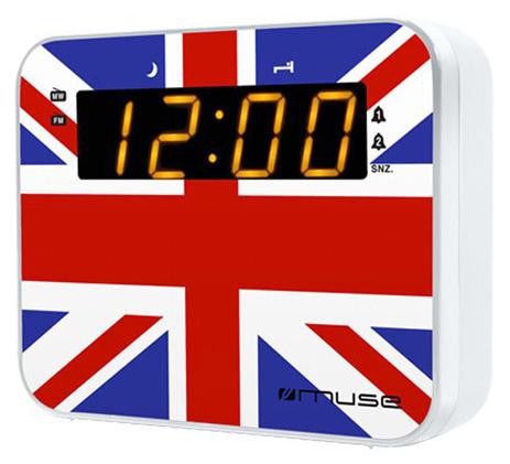 Ψηφιακό Ραδιορολόι Muse M-165 UK hlektrikes syskeyes texnologia eikona hxos radiocdhi fi