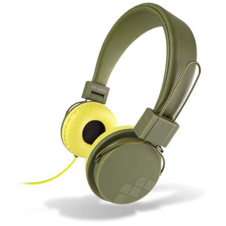 Ακουστικά με Μικρόφωνο 3.5mm Meliconi 497390 Speak Street , Καφέ-Λαδί hlektrikes syskeyes texnologia perifereiaka ypologiston akoystika