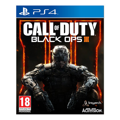 Call of Duty Black Ops III - PS4 Game gaming games paixnidia ps4