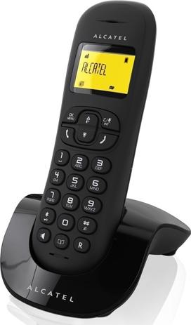 Ασύρματο Τηλέφωνο Alcatel C250 Black hlektrikes syskeyes texnologia stauerh thlefonia thlefona