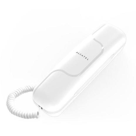 Σταθερό Τηλέφωνο Alcatel T06 White hlektrikes syskeyes texnologia stauerh thlefonia thlefona