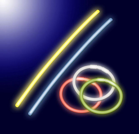 Φωσφοριζέ Sticks Olympia FLS 30221/100 100τμχ