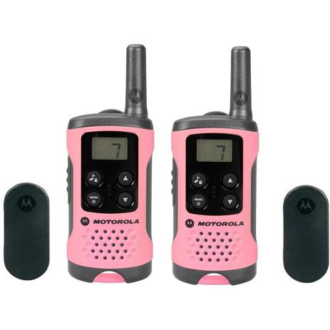 Walkie Talkie Motorola TLKR-T41 Ροζ