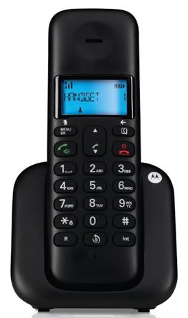 Ασύρματο Τηλέφωνο Motorola T301 Μαύρο hlektrikes syskeyes texnologia stauerh thlefonia thlefona