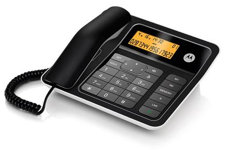 Ασύρματο Τηλέφωνο Motorola CT330 Μαύρο