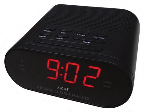 Ράδιο-Ρολόι Akai CR002A-219 hlektrikes syskeyes texnologia eikona hxos radiocdhi fi