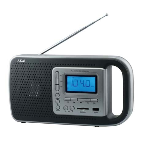 Ψηφιακό Ραδιόφωνο USB/SD Akai PR005A-420B hlektrikes syskeyes texnologia eikona hxos radiocdhi fi