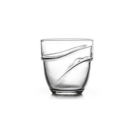 Ποτήρι Κρασιού Wave Διάφανο 220Ml Σετ 4Τεμ. Duralex 1049Ac04A0111