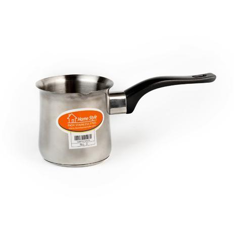 Μπρίκι Ηλεκτρικής Κουζίνας Inox Ν.3 ( 12 Oz ) Home&Style 6008503