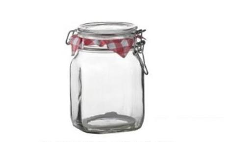 Βάζο Τροφίμων Fido Με Κλιπς 1,5 Λίτρο Home&Style 50414923041 spiti organosh koyzinas doxeia faghtoy