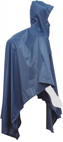 JR Gear Αδιάβροχο Poncho Μπλε (12646) khpos outdoor camping epoxiaka camping ajesoyar camping